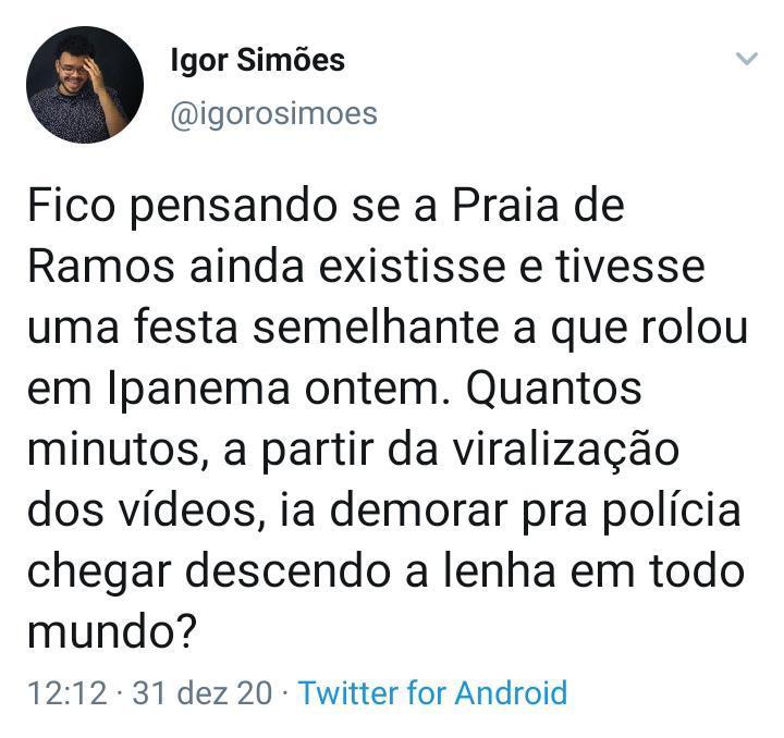 Festa em Ipanema choca internautas