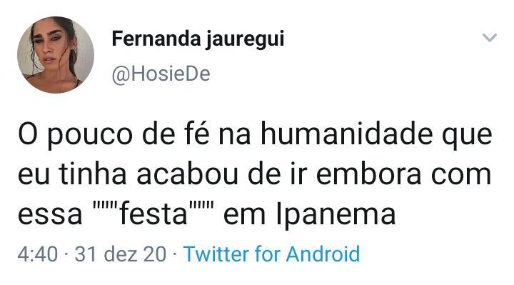 Festa em Ipanema causa revolta de internautas nas redes sociais