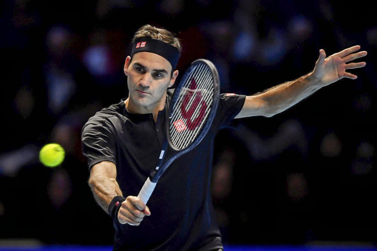 Roger Federer é o primeiro desportista da lista