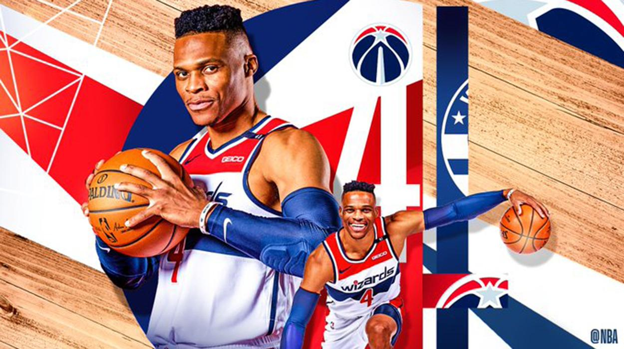 Westbrook nos Wizards é uma das grandes novidades da NBA em 2021
