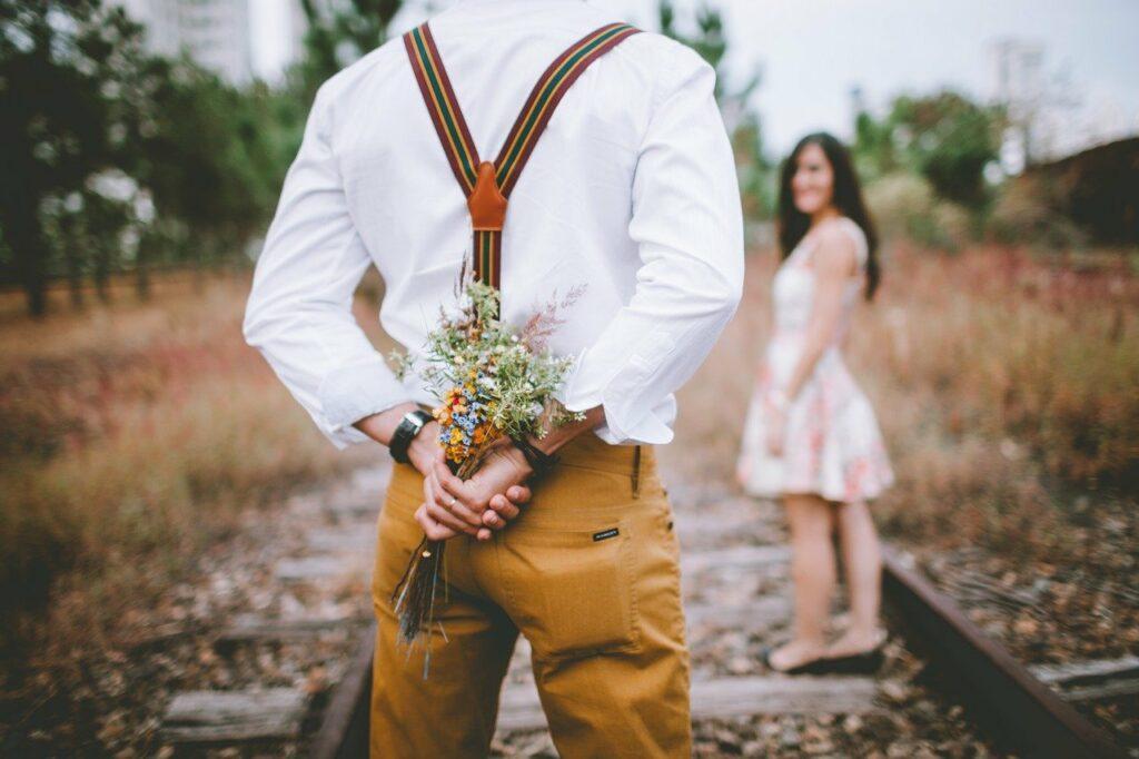 Flores - romantismo