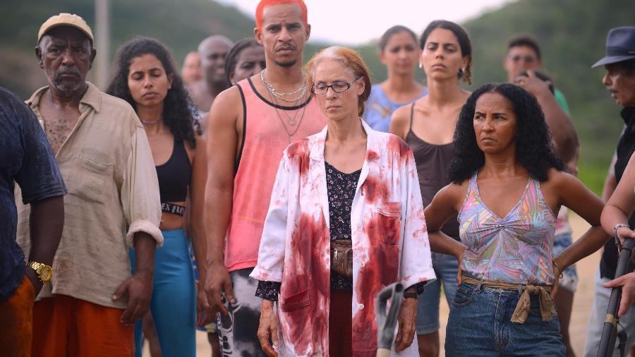 Imagem mostra cena do filme Bacurau