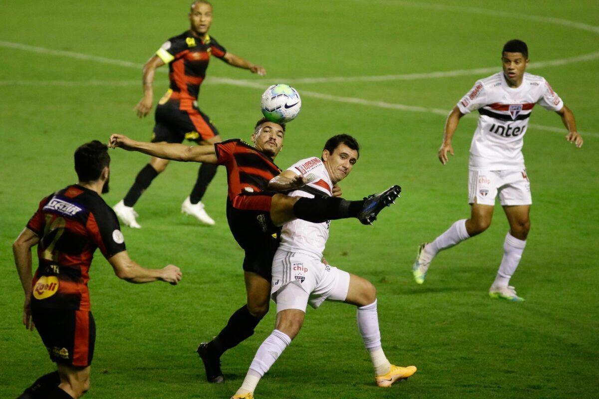No jogo de ida entre São Paulo e Sport, Tricolor Paulista ganhou o confronto por 1 a 0 com gol de Pablo