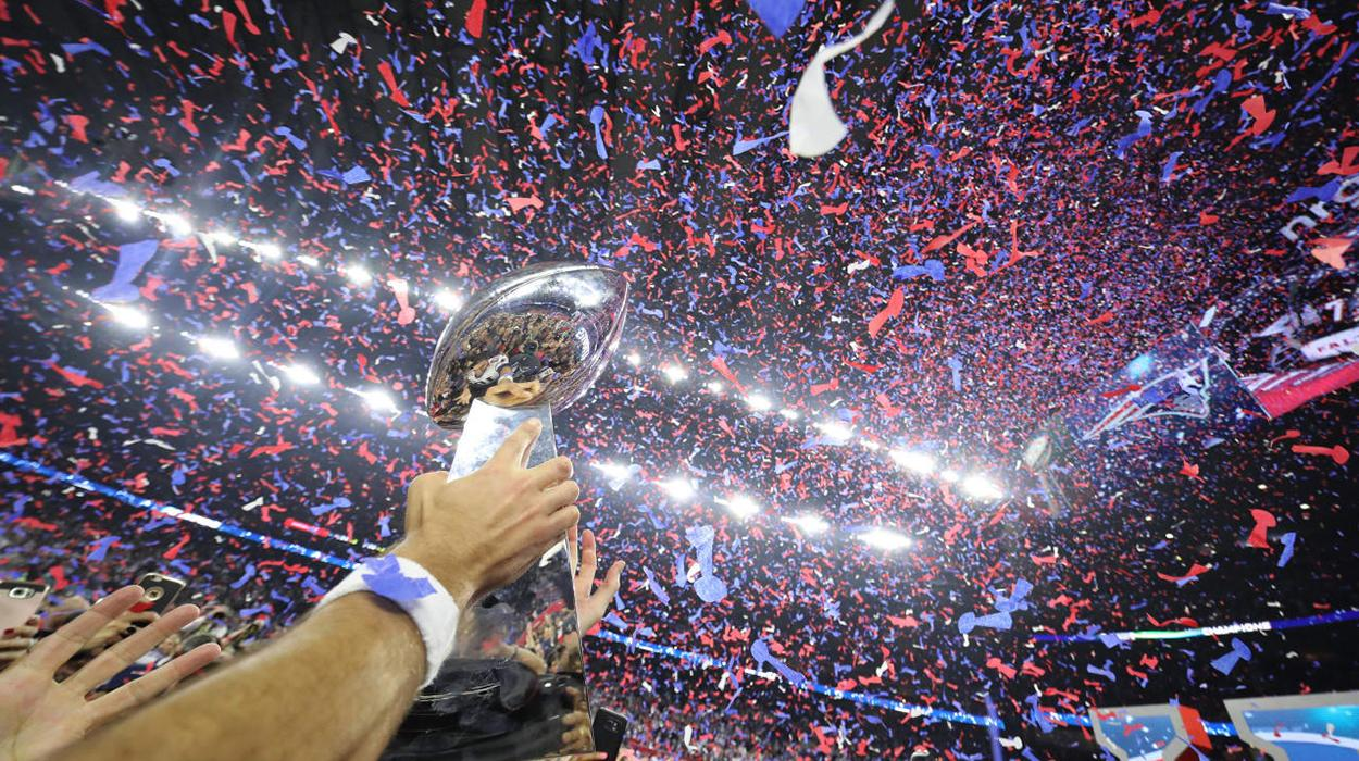 Troféu do Super Bowl 2021