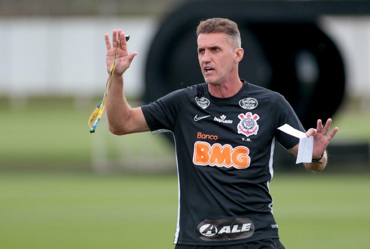 Mancini assumiu Timão em outubro em fecha 2020 com aproveitamento de 66,6%