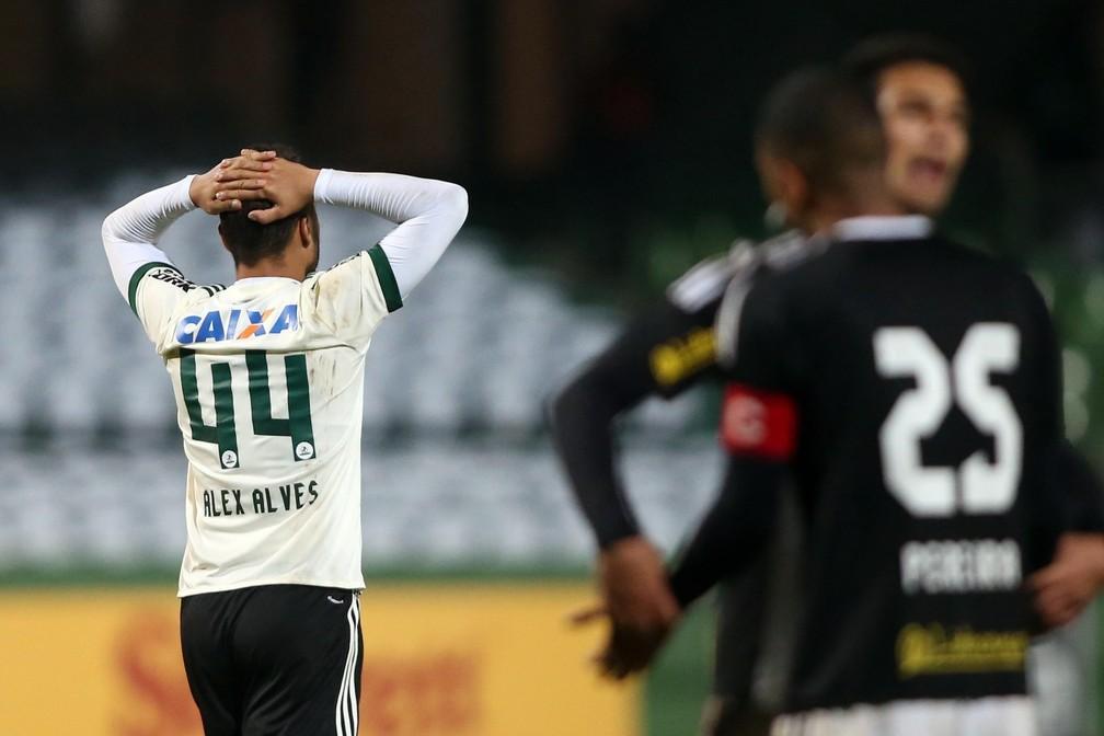 Coritiba é equipe com maior chance de rebaixamento para a Série B