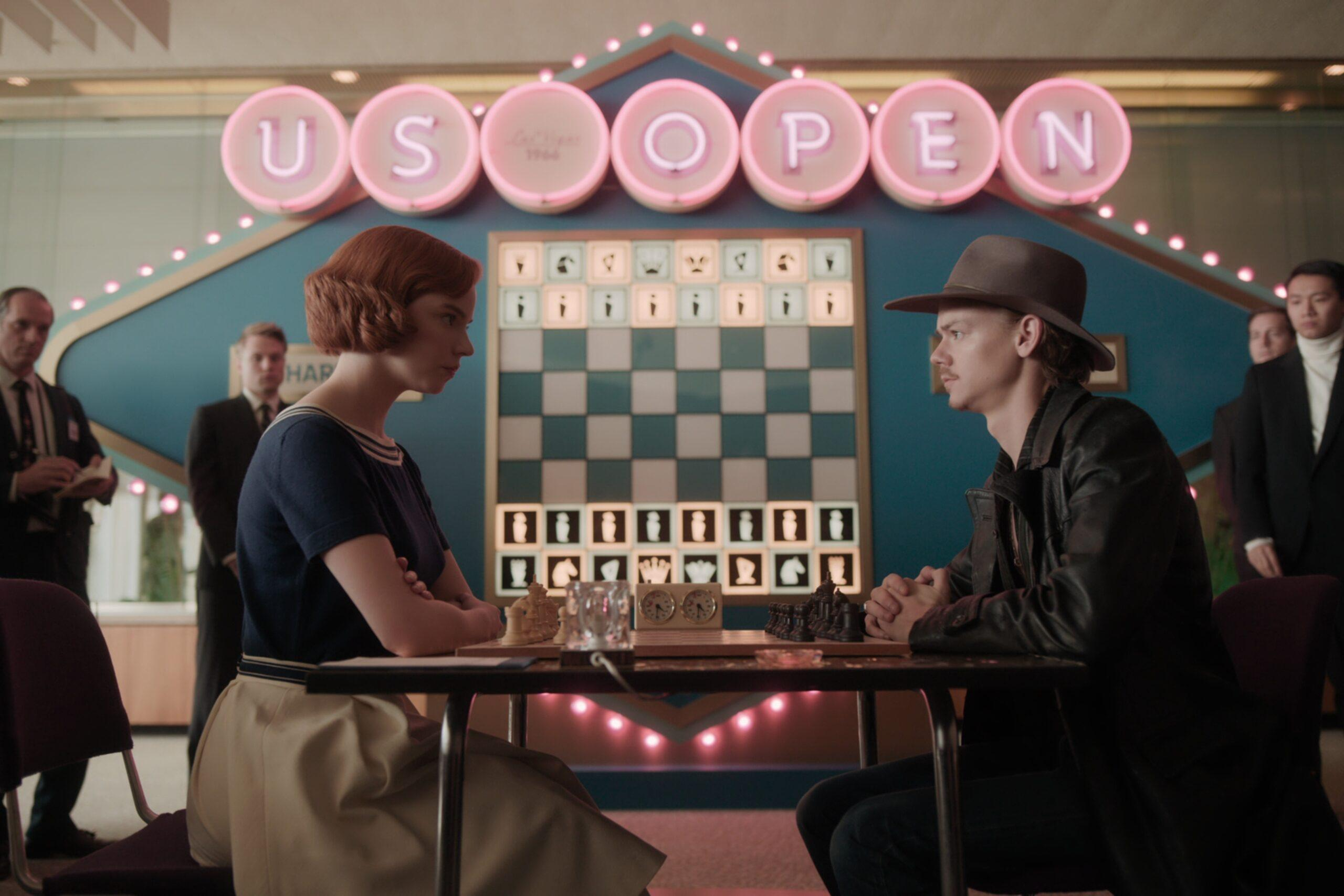 O gambito da rainha xadrez online