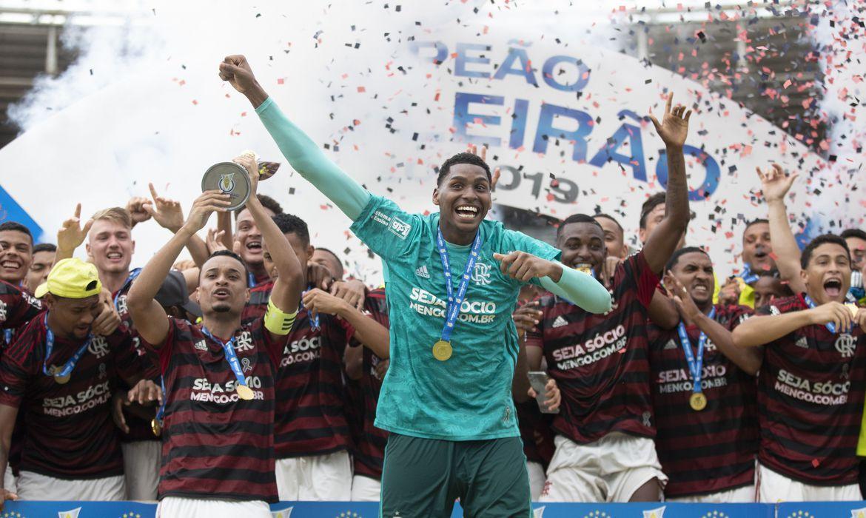 Flamengo é o atual campeão brasileiro sub-20