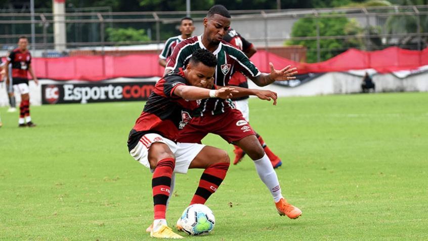 Saiba onde assistir Fluminense x Flamengo no Brasileiro Sub-20