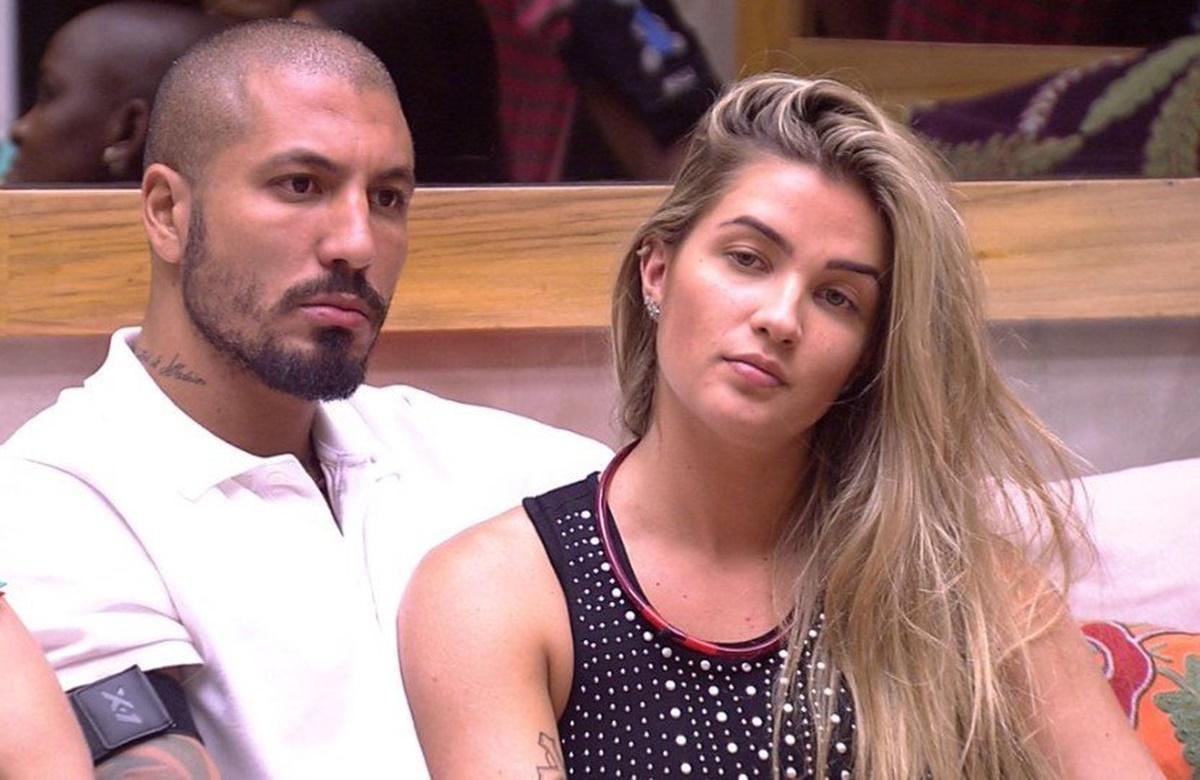 Aline Gotschalg e Fernando Medeiros