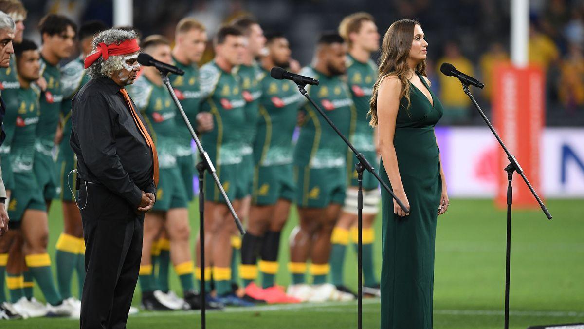 Austrália muda o hino nacional