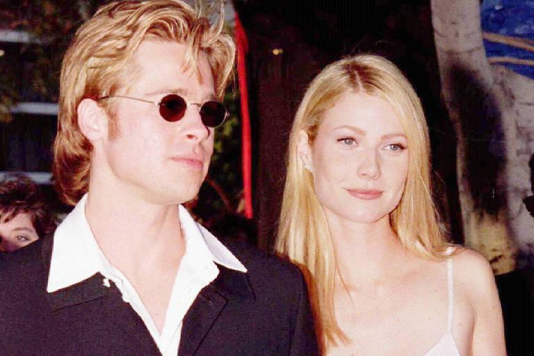 Imagem de Brad Pitt e Gwyneth Paltrow