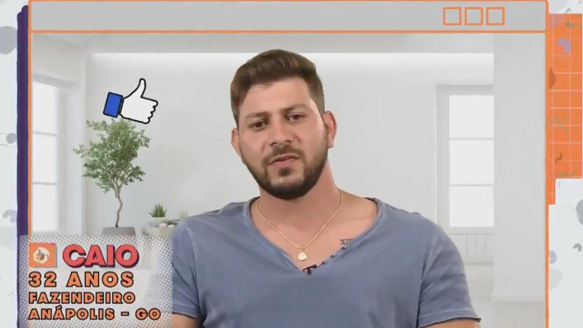 Imagem mostra Caio do BBB 21