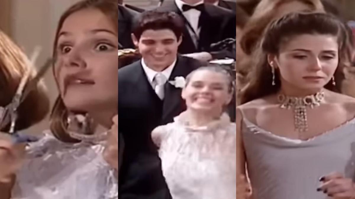 casamento de Camila e Edu em Laços de Família