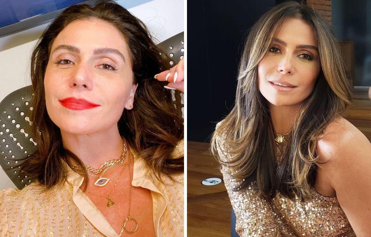 Imagem mostra mudança de visual da Giovanna Antonelli