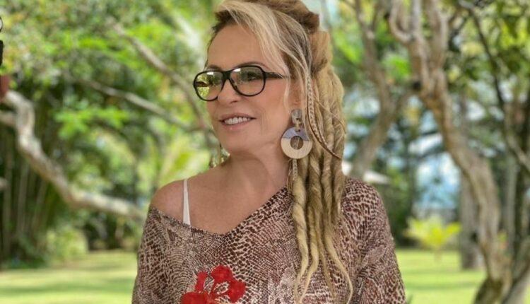 Imagem mostra Ana Maria Braga com dreads