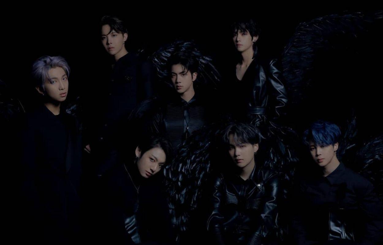 Imagem mostra grupo BTS