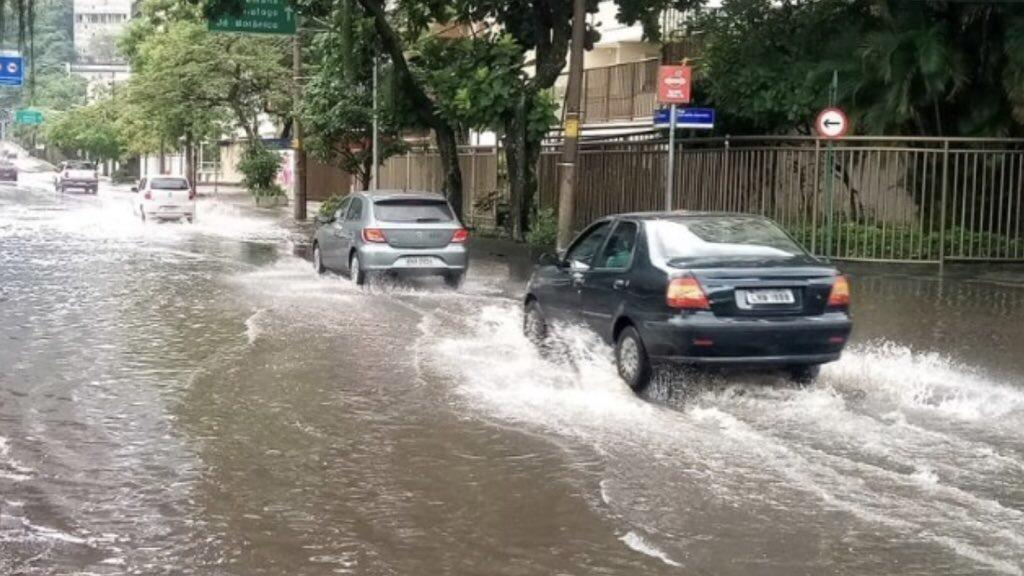 Alagamentos com chuvas Rio de Janeiro