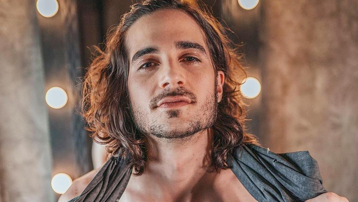 Na imagem o cantor Fiuk, participante do BBB21