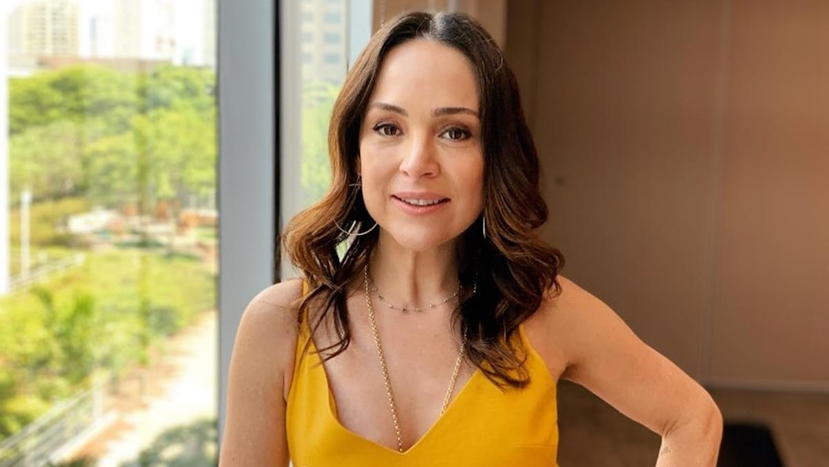Imagem mostra a atriz Gabriela Duarte