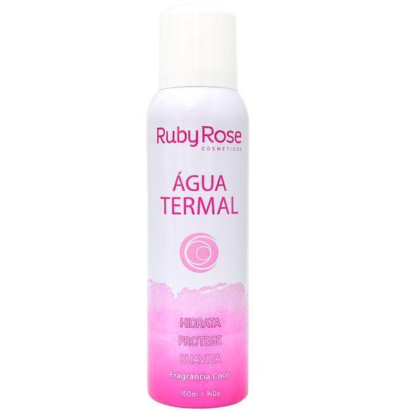 Imagem mostra água termal da Ruby Rose