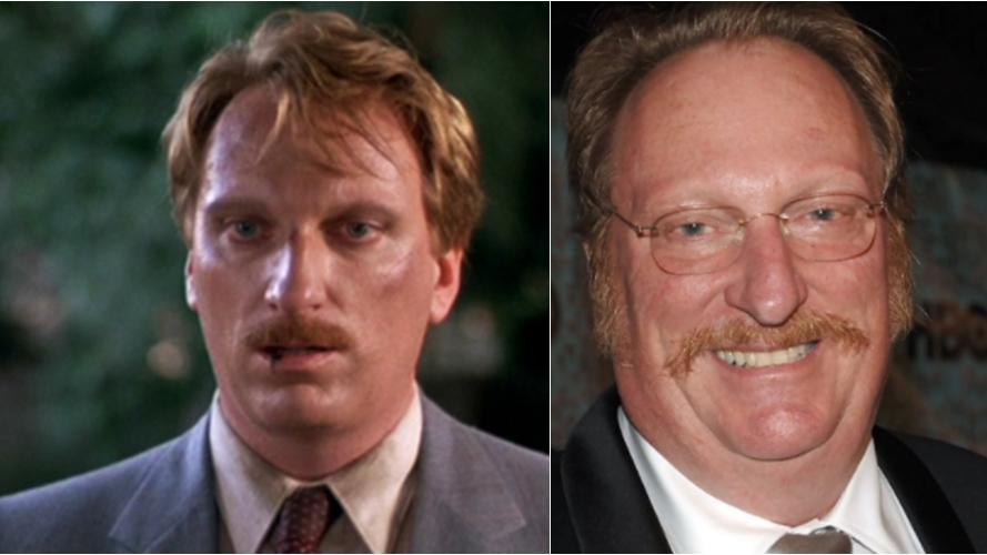 Imagem mostra antes e depois de Jeffrey Jones