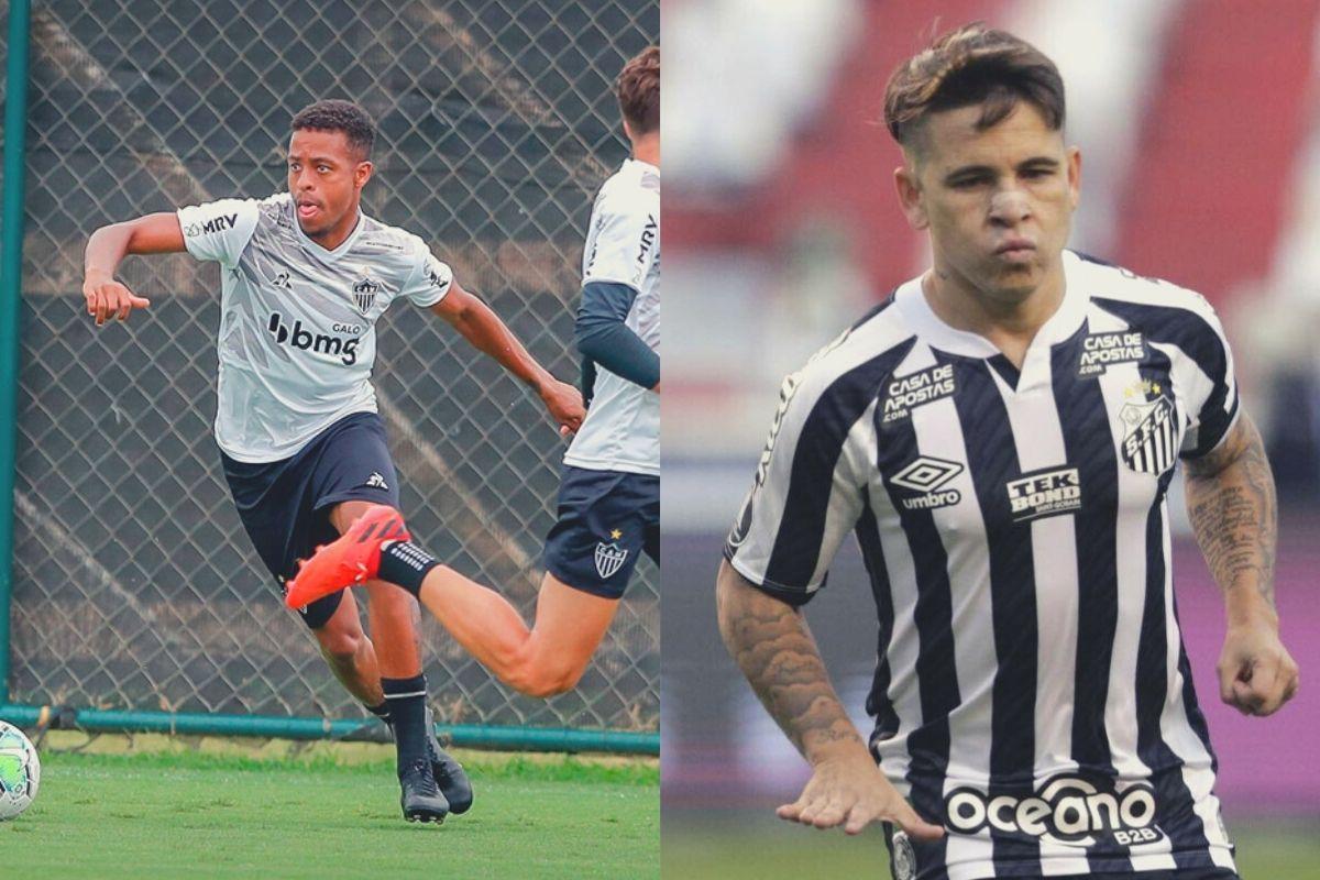 Imagem mostra jogadores que são dicas de atacantes para o Cartola FC