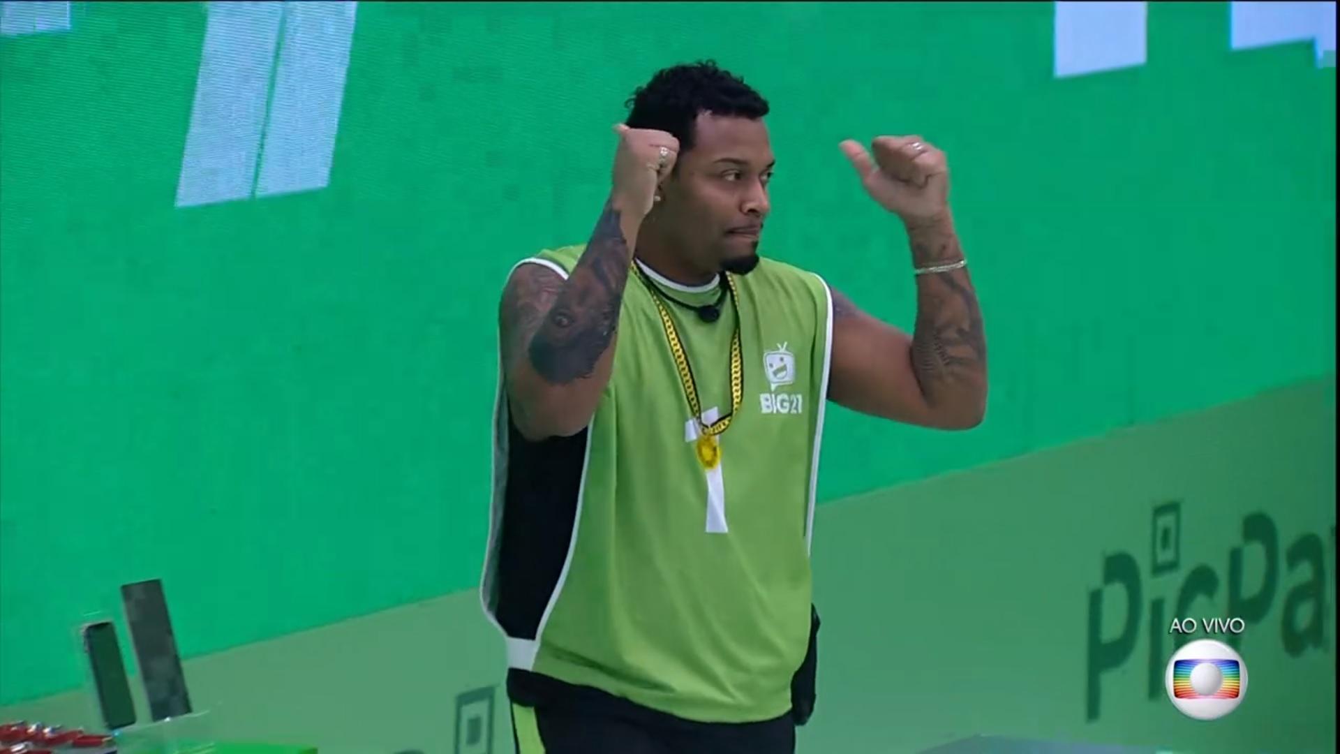 Nego Di, primeiro líder do BBB21