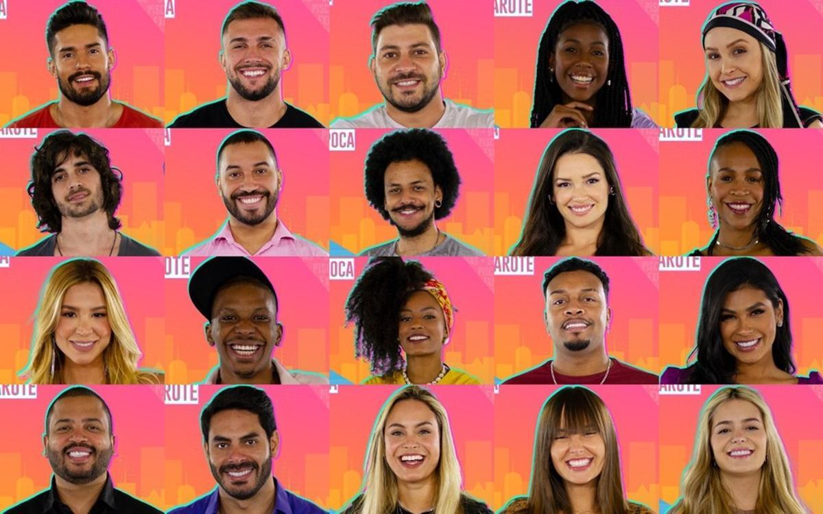 Imagem mostra Participantes do BBB 21
