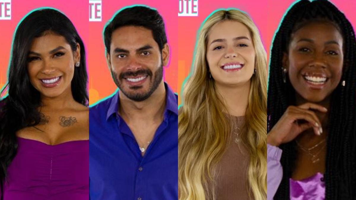 Na imagem os participantes do camarote do BBB21 - lista os famosos no início da carreira