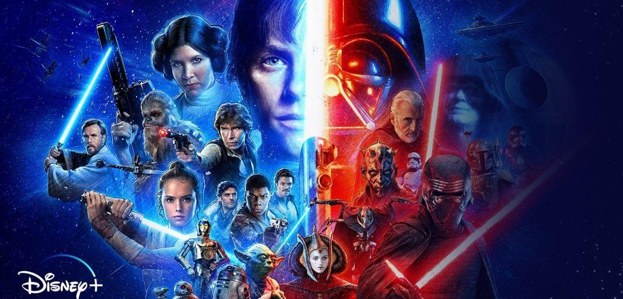 Qual é a ordem cronológica correta para assistir Star Wars?