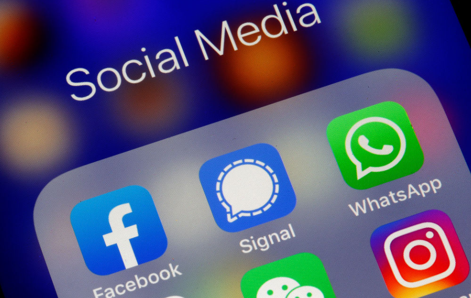 ícone do Signal, novo aplicativo de conversas com privacidade
