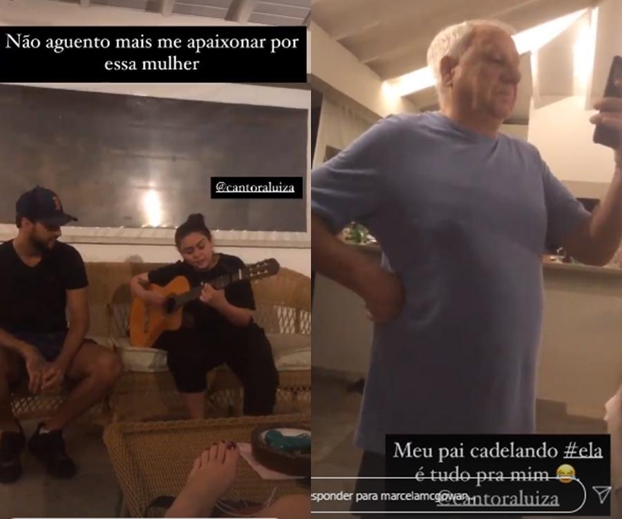 Imagem mostra os Stories da ex-BBB Marcela do BBB 20