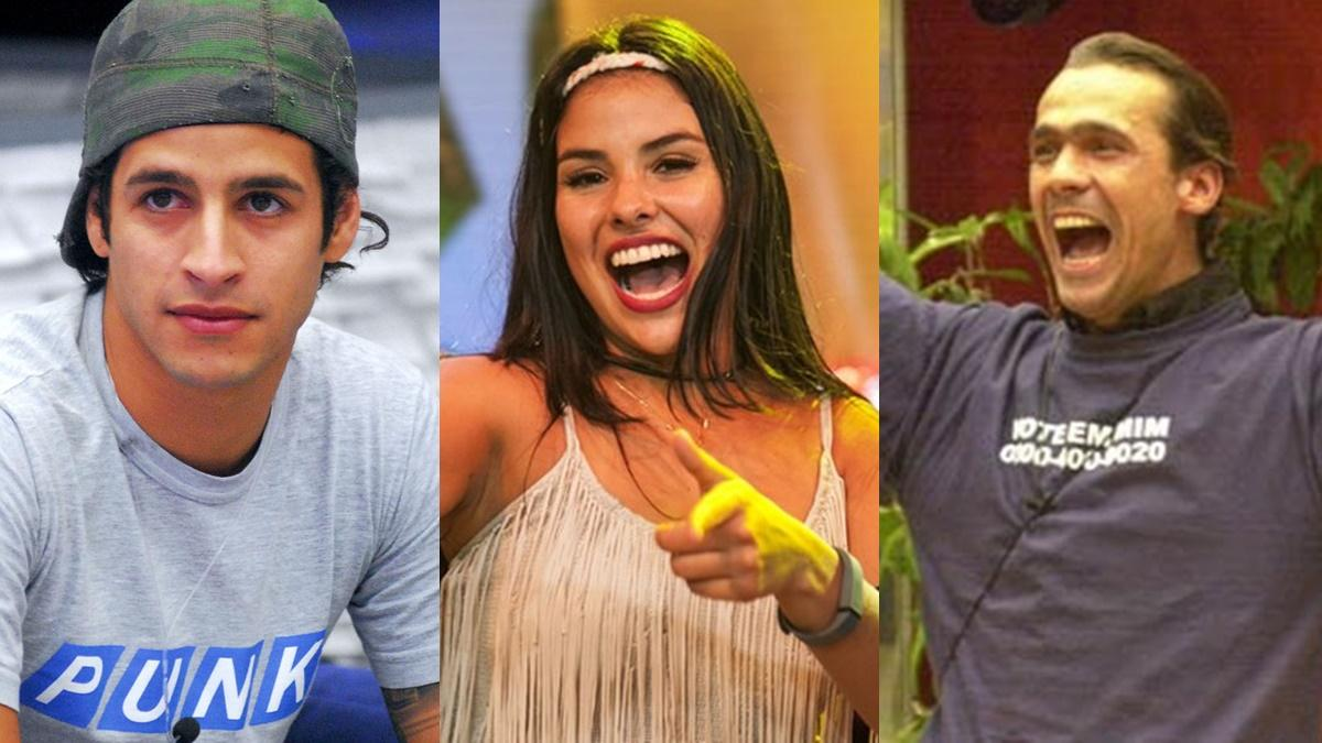 Rafinha, Munik e Rodrigo Cowboy - BBB