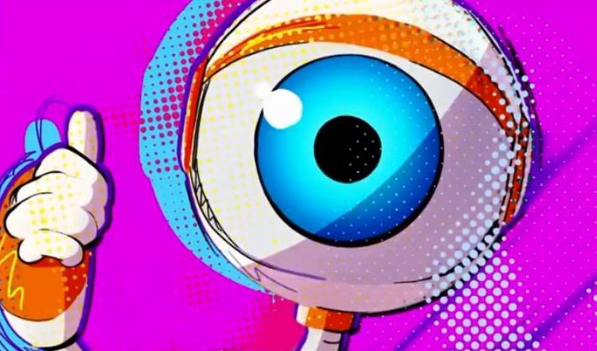 Na imagem ilustração do robô do BBB - Abertura do reality