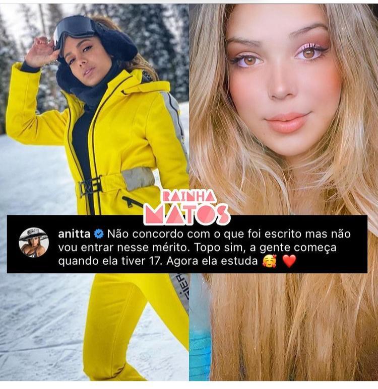 Imagem de comentário de Anitta
