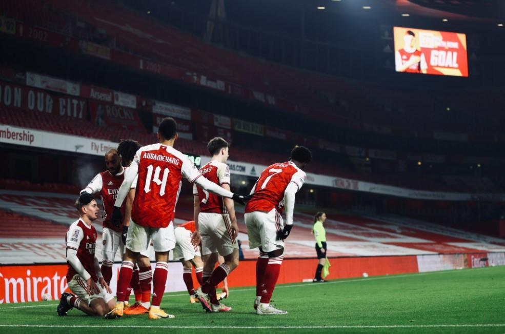 Arsenal x Crystal Palace