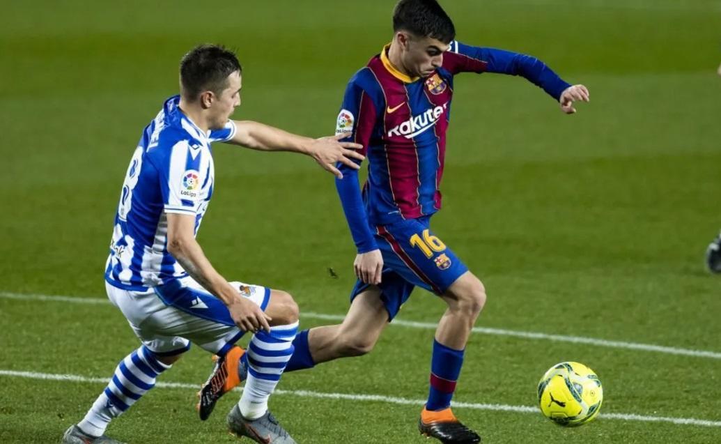 Real Sociedad x Barcelona