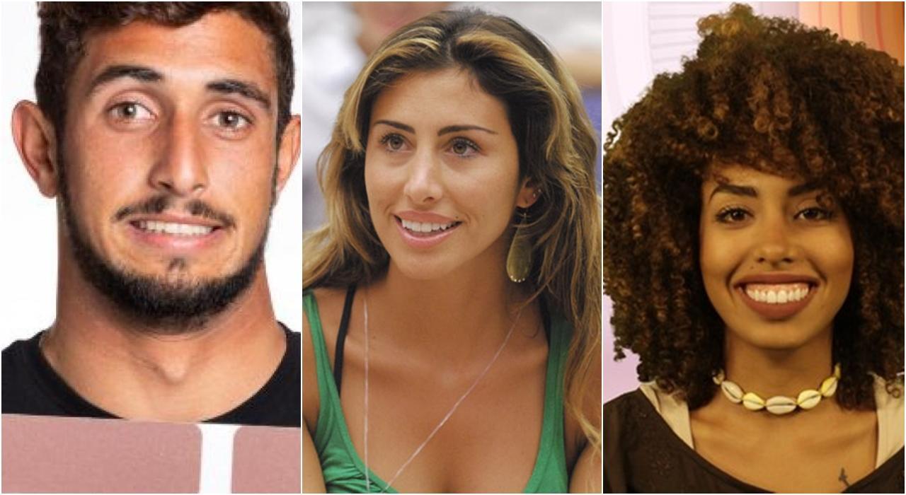 Imagem de participantes eliminados na primeira semana de BBB