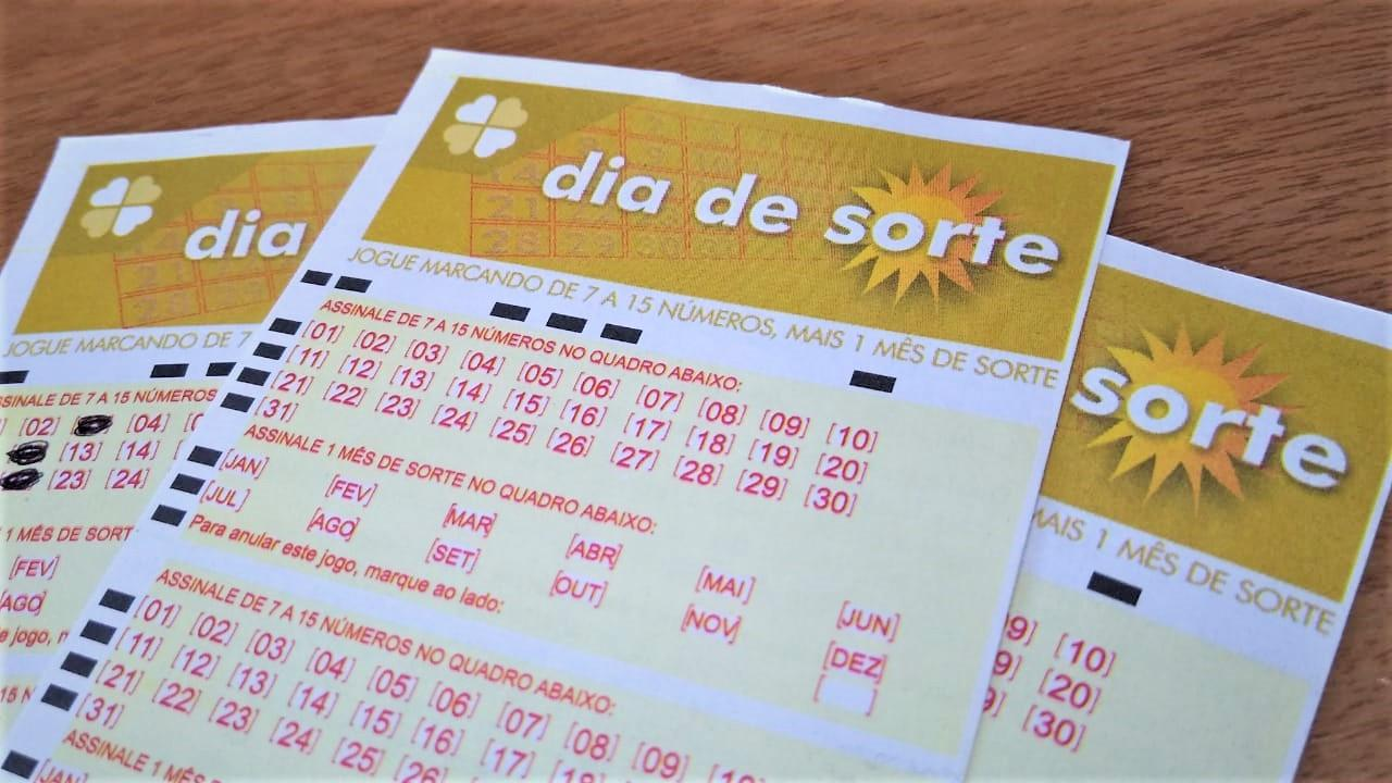 resultado do dia de sorte - A imagem mostra volantes do Dia de Sorte