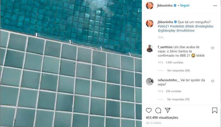 Instagram de Boninho