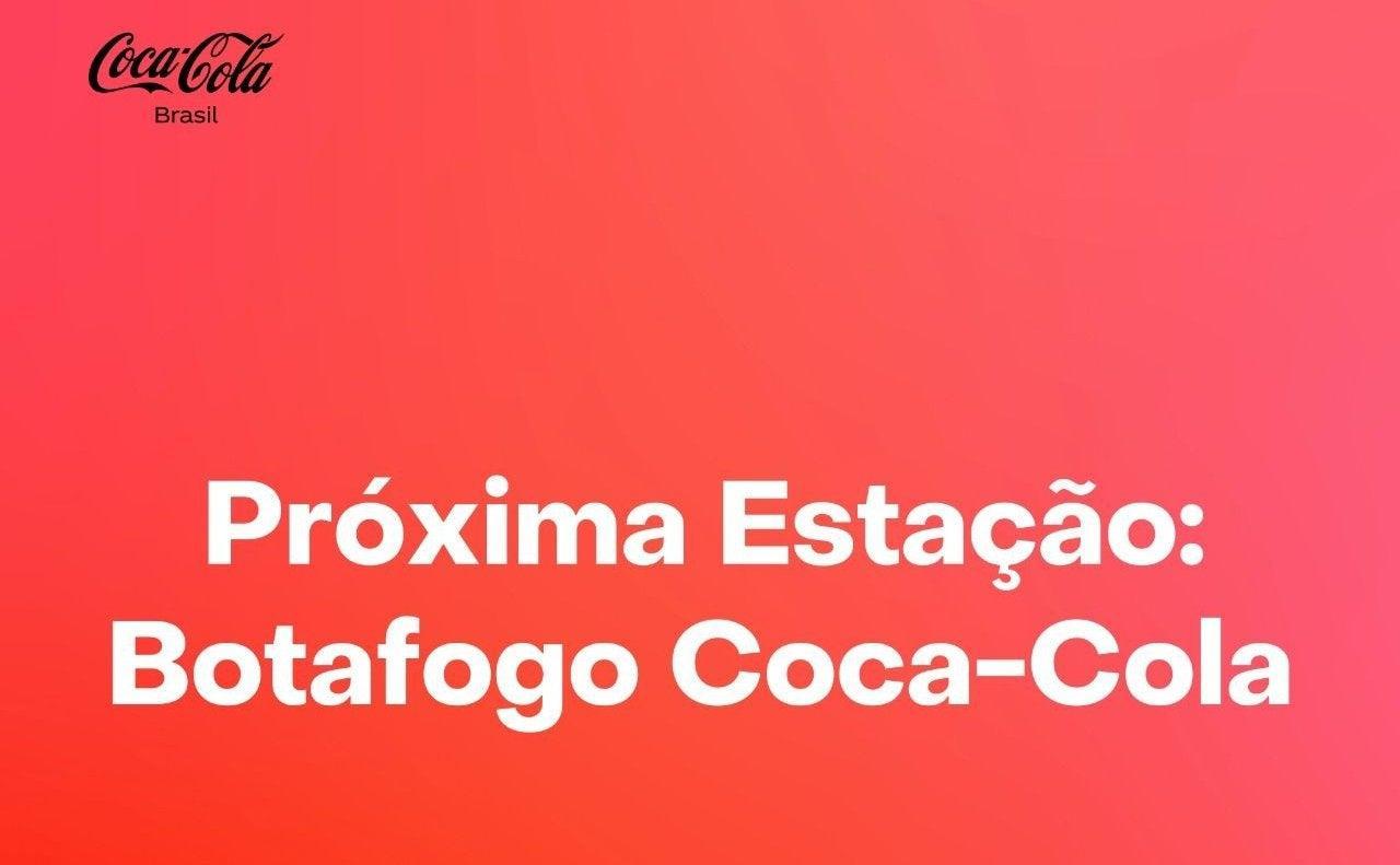 Próxima estação: Botafogo Coca-Cola. Veja os melhores memes após mudança