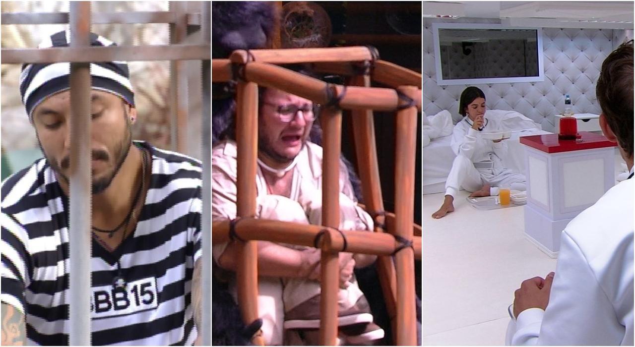 Imagem dos participantes do reality show BBB da Globo