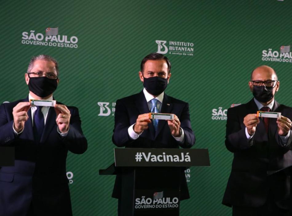 Governo de SP vai usar sistema de cadastro para vacinação; entenda