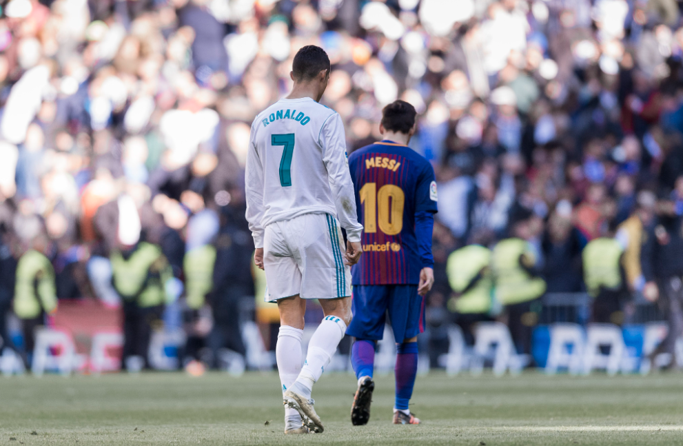 Messi e Cristiano Ronaldo protagonizam até hoje uma das maiores rivalidades do esporte