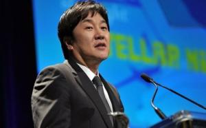 Foto do empresário Do Won Chang em matéria sobre pessoas pobres que ficaram rics