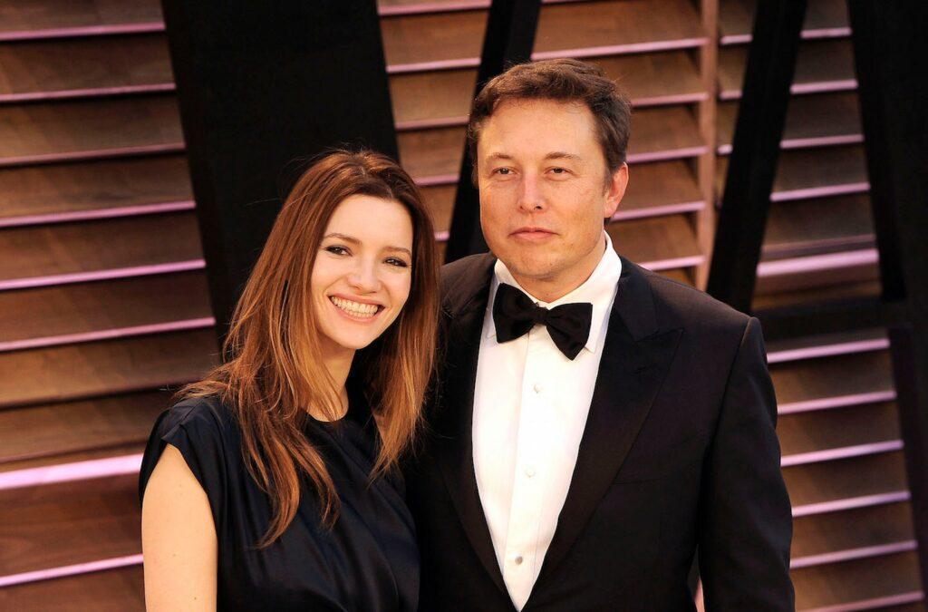 Imagem mostra Talulah Riley em matéria sobre família de Elon Musk