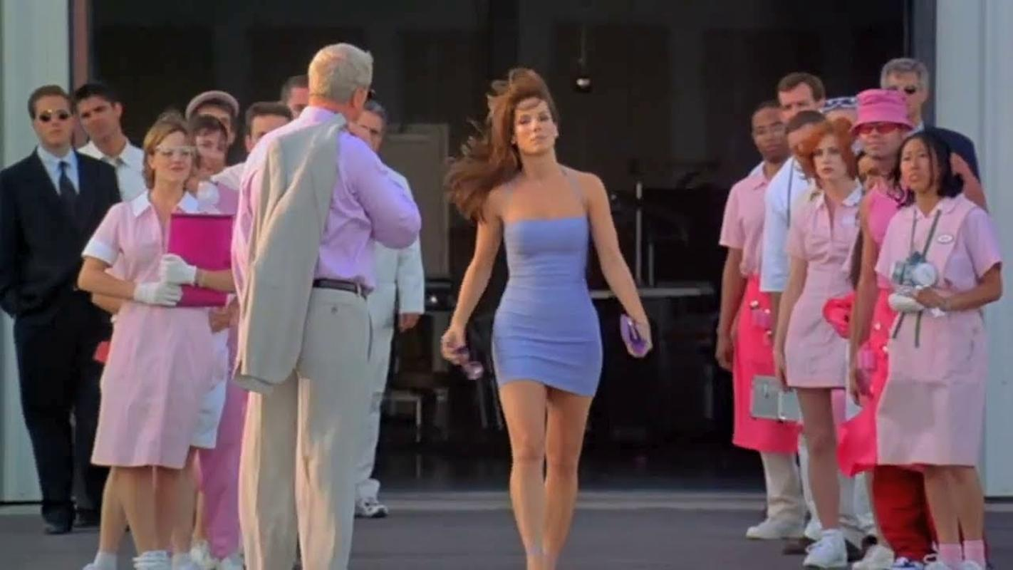 Imagem do filme Miss Simpatia da sessão da tarde de hoje na Globo