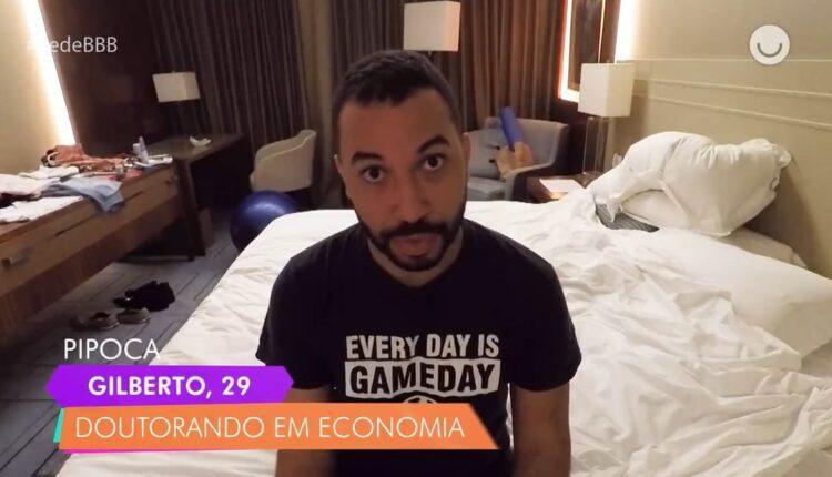 Gilberto no hotel