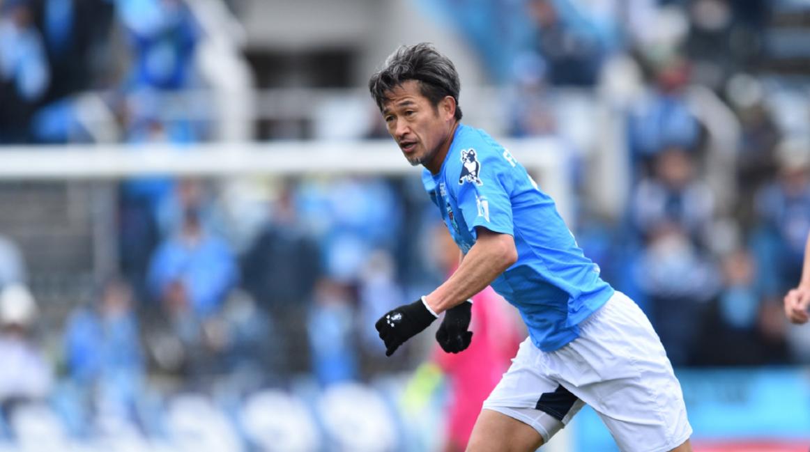 Kazu Miura segue quebrando recordes regularmente